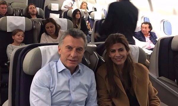 Encuentran droga en vuelo que tomó Macri