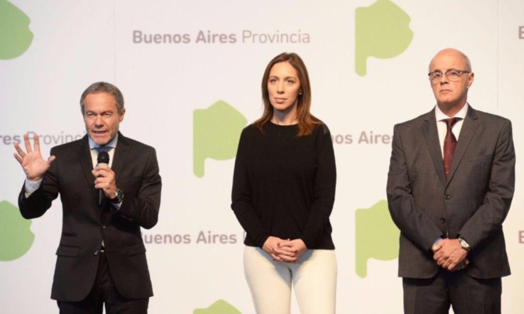 María Eugenia Vidal presentó la Oficina Anticorrupción