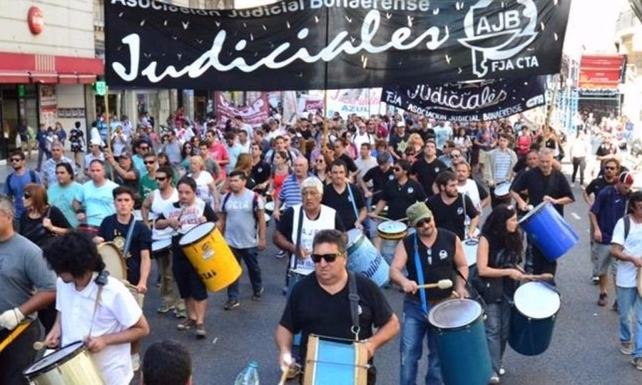48 horas de paro sin movilización — Judiciales bonaerenses