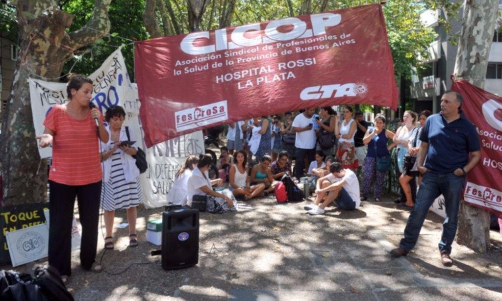 Fracasó la paritaria entre Vidal y el gremio de la Salud bonaerense