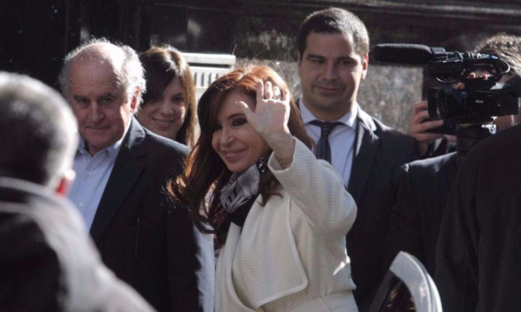 Cristina Fernández de Kirchner lanza en un acto el frente