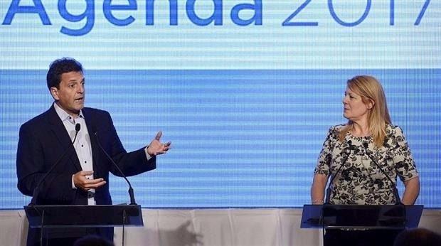 Sergio Massa será candidato a senador secundado por Margarita Stolbizer