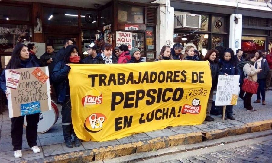 Trabajadores de PepsiCo piden a la Justicia frenar el desalojo