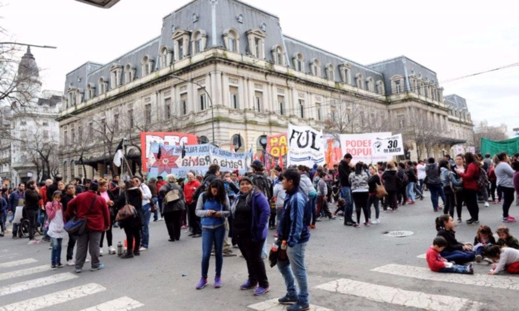 Rosario repudió la represión a trabajadores de Pepsico