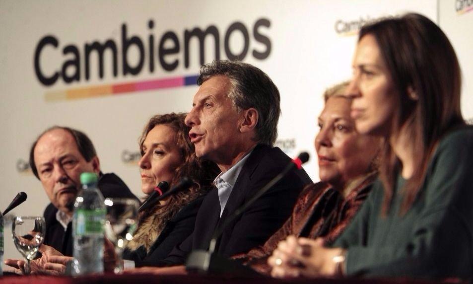 En acto con Vidal, Macri cargó contra la oposición