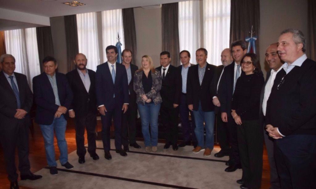 María Eugenia Vidal reclamó la actualización del Fondo del Conurbano