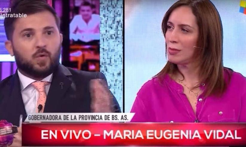 María Eugenia Vidal le puso los puntos a Brancatelli