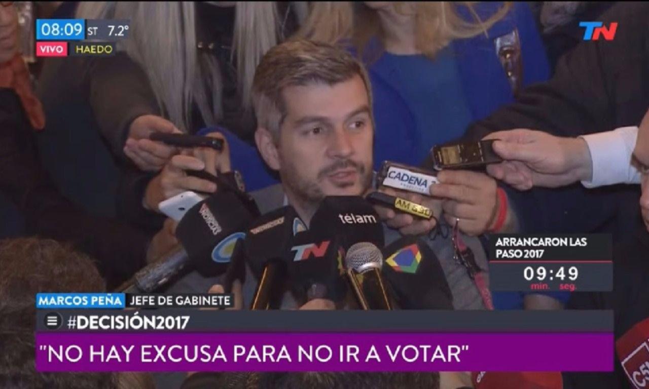 Larreta votó temprano, destacó el café del Tortoni y reivindicó las PASO
