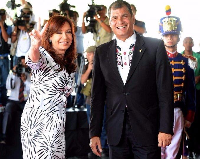 Cristina será condecorada por una Asamblea adicta a Correa — Ecuador