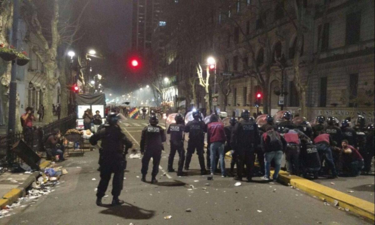 Excarcelaron a 30 detenidos en la marcha por Santiago Maldonado