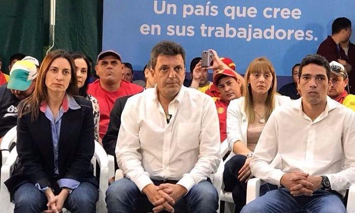 Massa retomó la campaña con una recorrida por San Martín