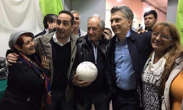 Macri y Vidal inauguraron obras en San Miguel
