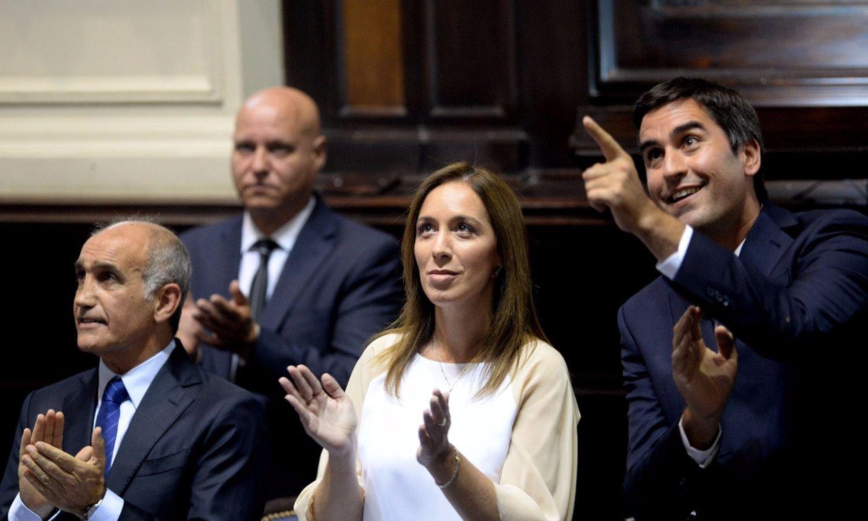 Vidal busca recortar gastos de Diputados y Senadores bonaerenses