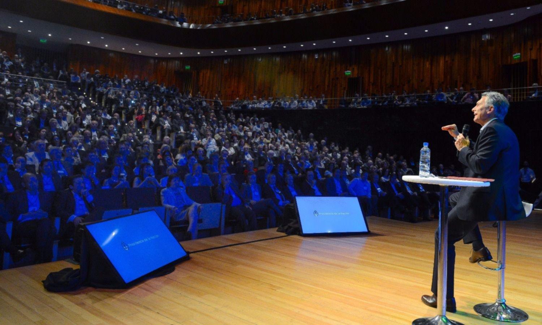 Mauricio Macri presentó el plan de reformas