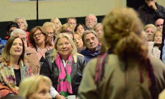 Elisa Carrió lo hizo de nuevo: Ahora, pide por los militares presos