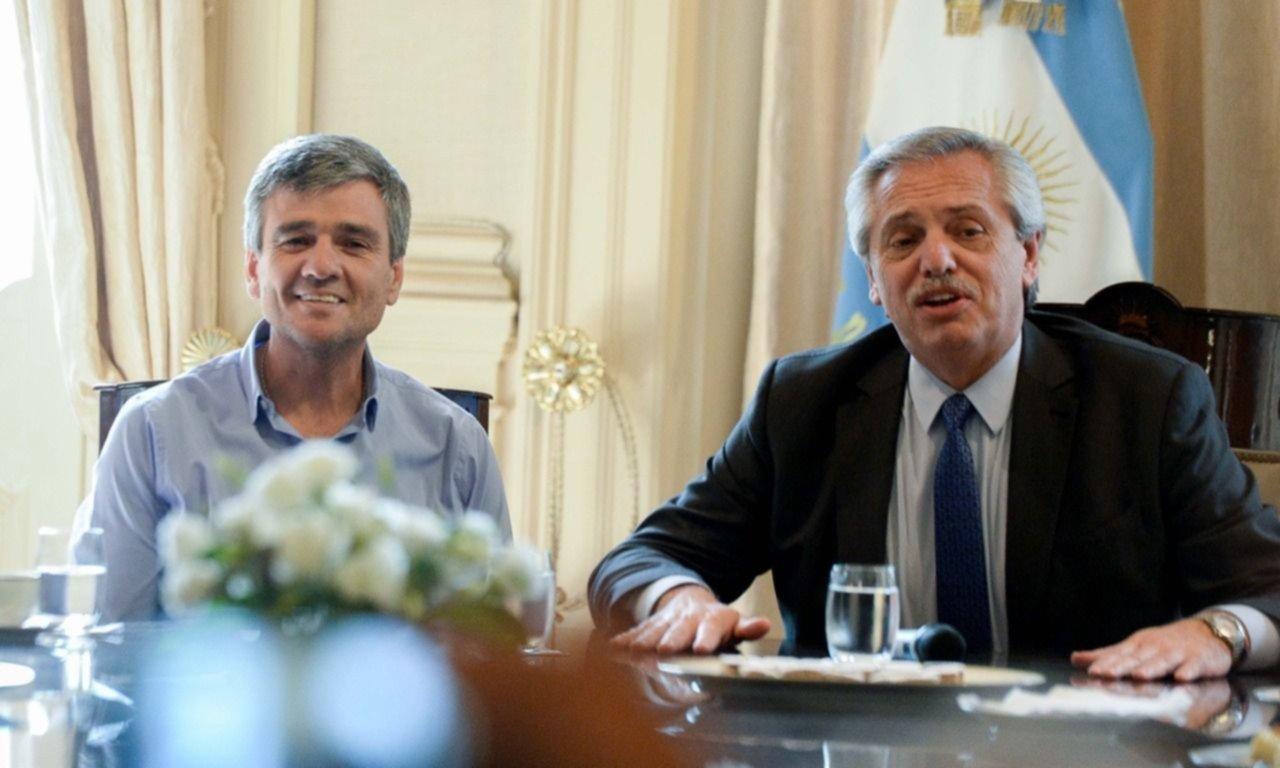 Zabaleta se reunió con Fernández para ultimar detalles sobre un nuevo parque industrial en Hurlingham