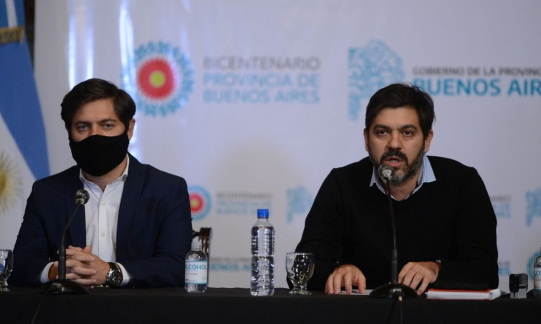 Kicillof anunciará un plan de ayuda económica para pymes y comercios