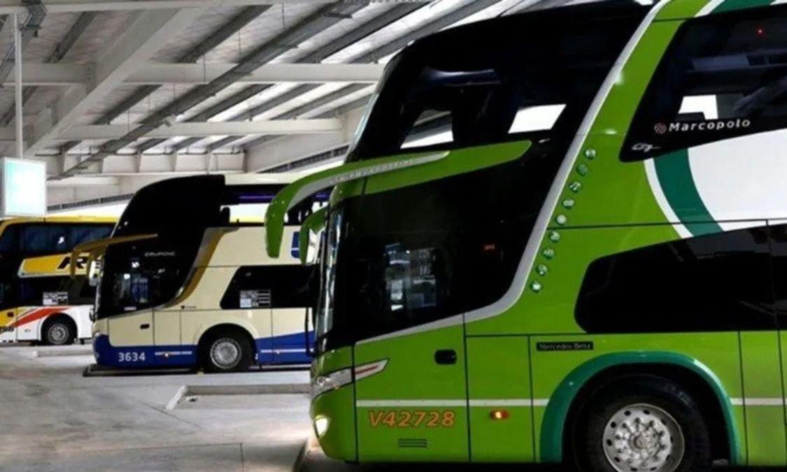 Meoni auxilia a los ómnibus de larga distancia con un subsidio de $500M