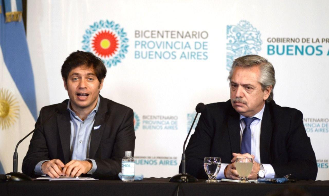 Kicillof aspira a rozar el 30% de coparticipación para Buenos Aires