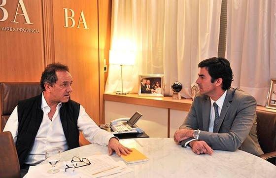 Con eje en economía, Scioli y Urtubey afianzaron lazos