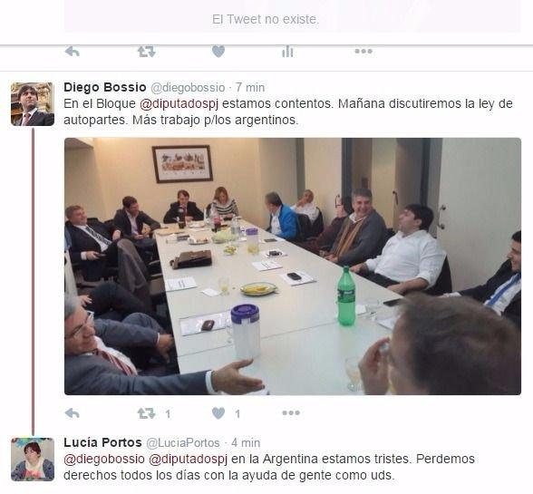 Diputada de La Cámpora cuestionó a Bossio y después borró el tuit