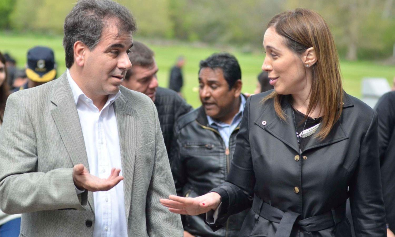 Vidal y Ritondo, de campaña en el exterior: llevan su plan anti mafia a Colombia