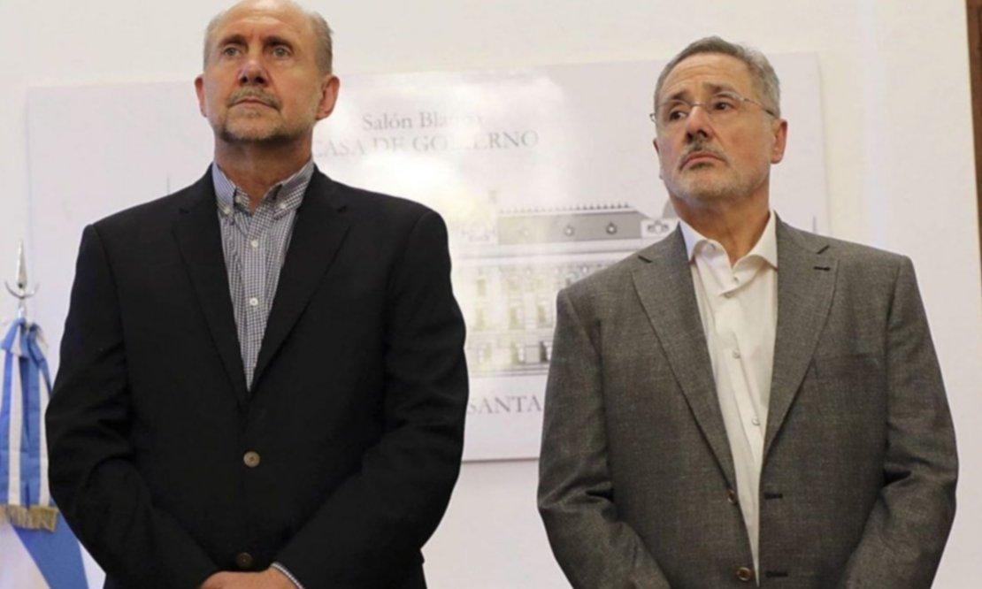 Perotti hace equilibrio en la pelea entre Sain y los senadores peronistas