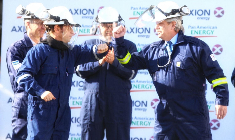 Kicillof presiona para ingresar al selecto club de las provincias petroleras