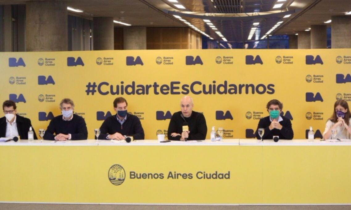 """Larreta dio detalles de las nuevas medidas y negó """"rispideces"""" con Kicillof"""