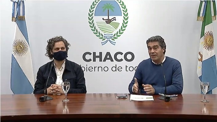 Cafiero y Vizzotti, bomberos en el Chaco del compañero y amigo Coqui