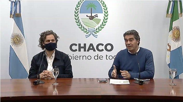 Cafiero y Vizzotti, bomberos en el Chaco del compañero y amigo Coqui