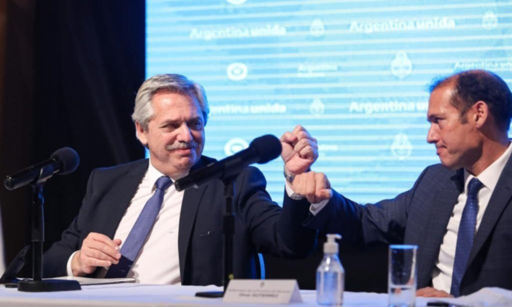 Buen trato con el MPN y señales de acercamiento: lo que dejó el paso de Fernández