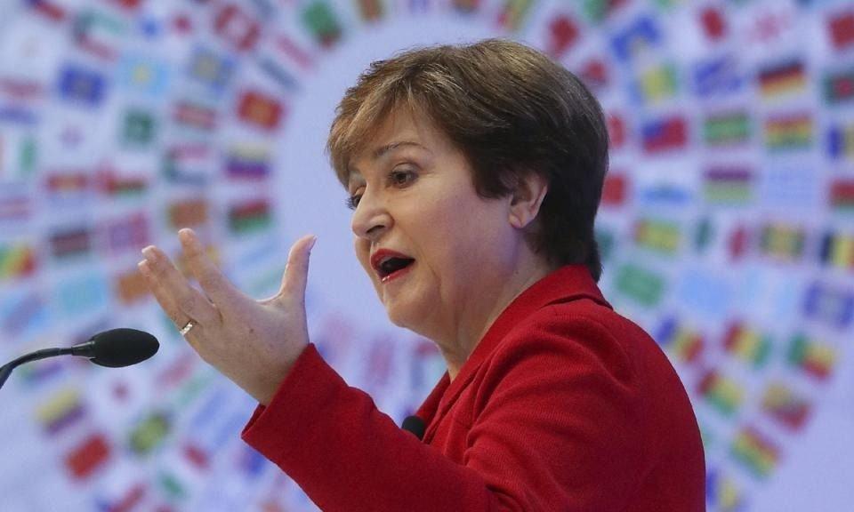Directora del FMI ratificó apoyo a negociaciones de deuda de la Argentina