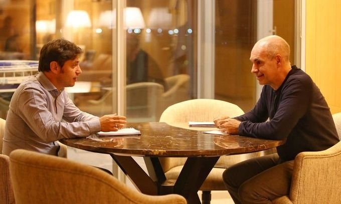 Larreta y Kicillof ultiman detalles de la próxima etapa de la cuarentena