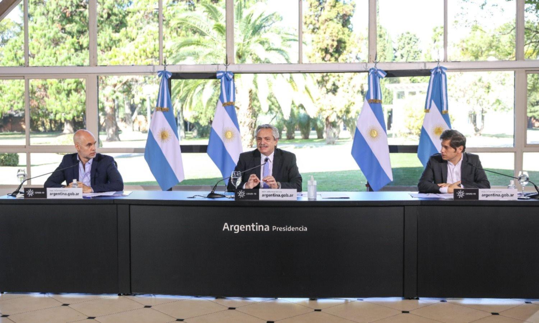 """Con delay, en la perinola de la triple alianza salió """"todos ponen"""""""