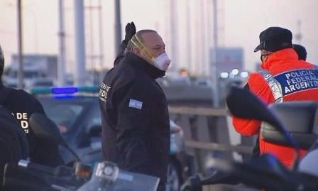 Berni se enojó con la Policía Federal y tensó más la relación con la Nación