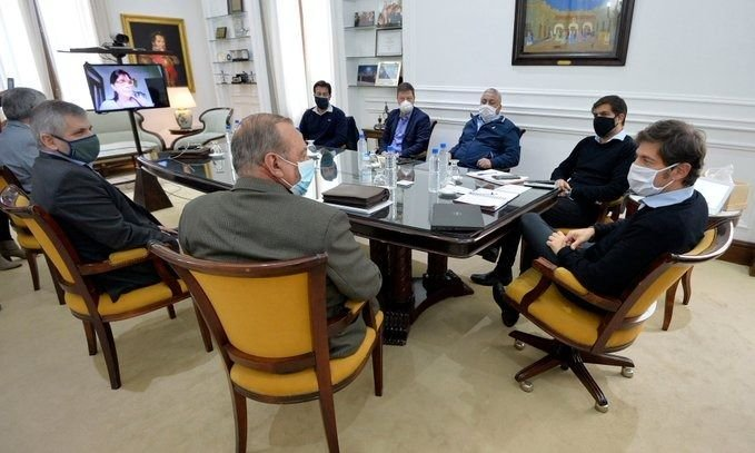 Intendentes del Grupo de los Seis bancan a Kicillof ante las críticas opositoras