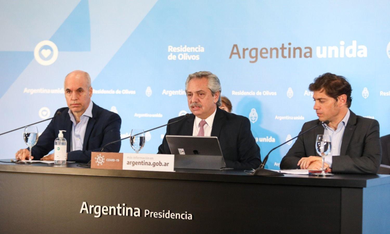 El plan de Larreta para despegarse de Fernández y Kicillof tras el 17J