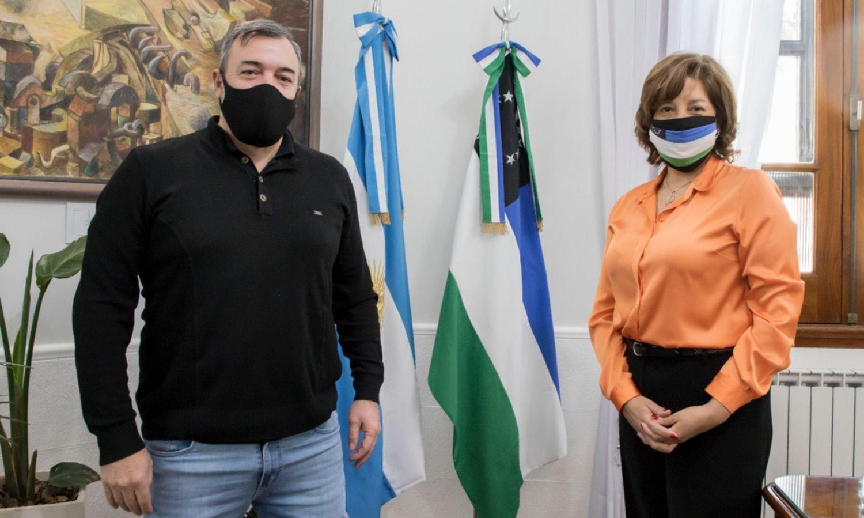 Gobierno - ATE: Aguiar logró la foto que disipa rumores