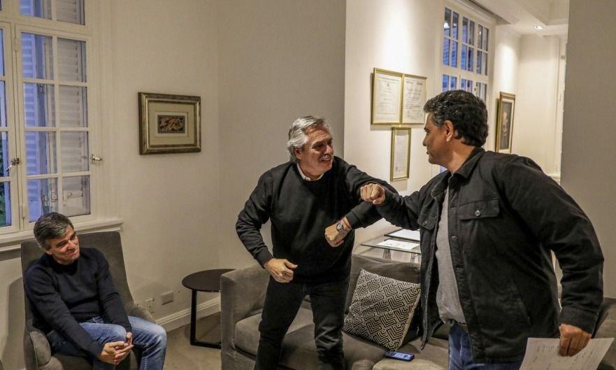Efecto comunicado: Macri y Grindetti se reúnen con Fernández en Olivos