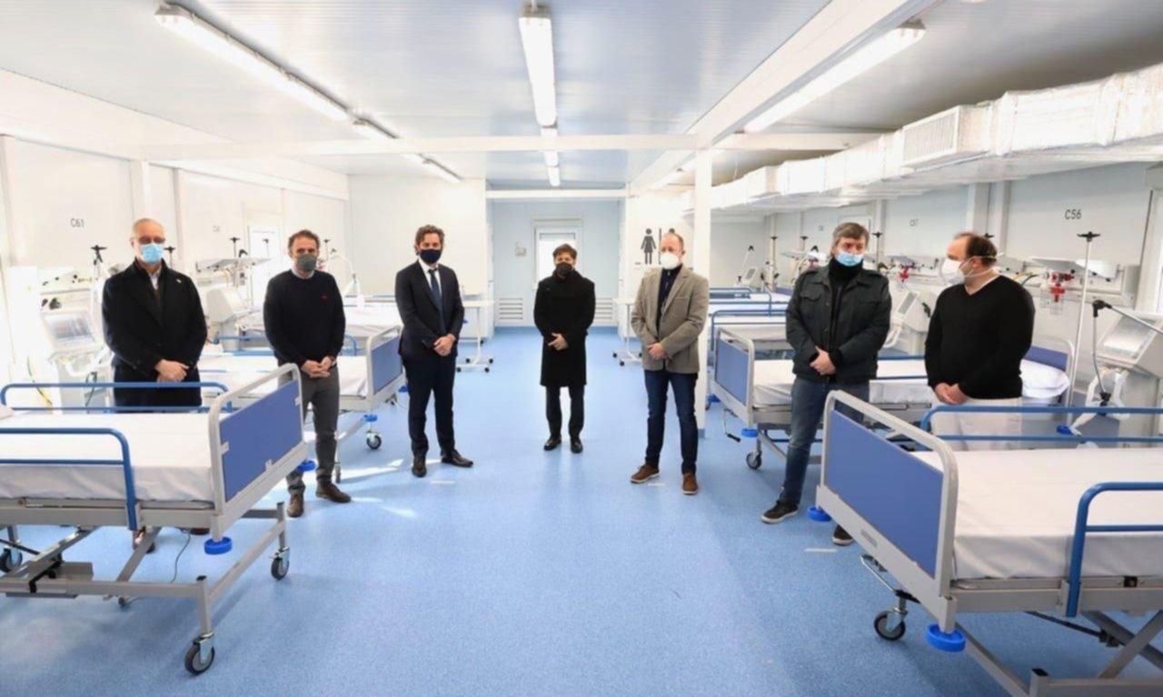 Cumbre en Lomas para la inauguración del nuevo hospital modular de Fiorito