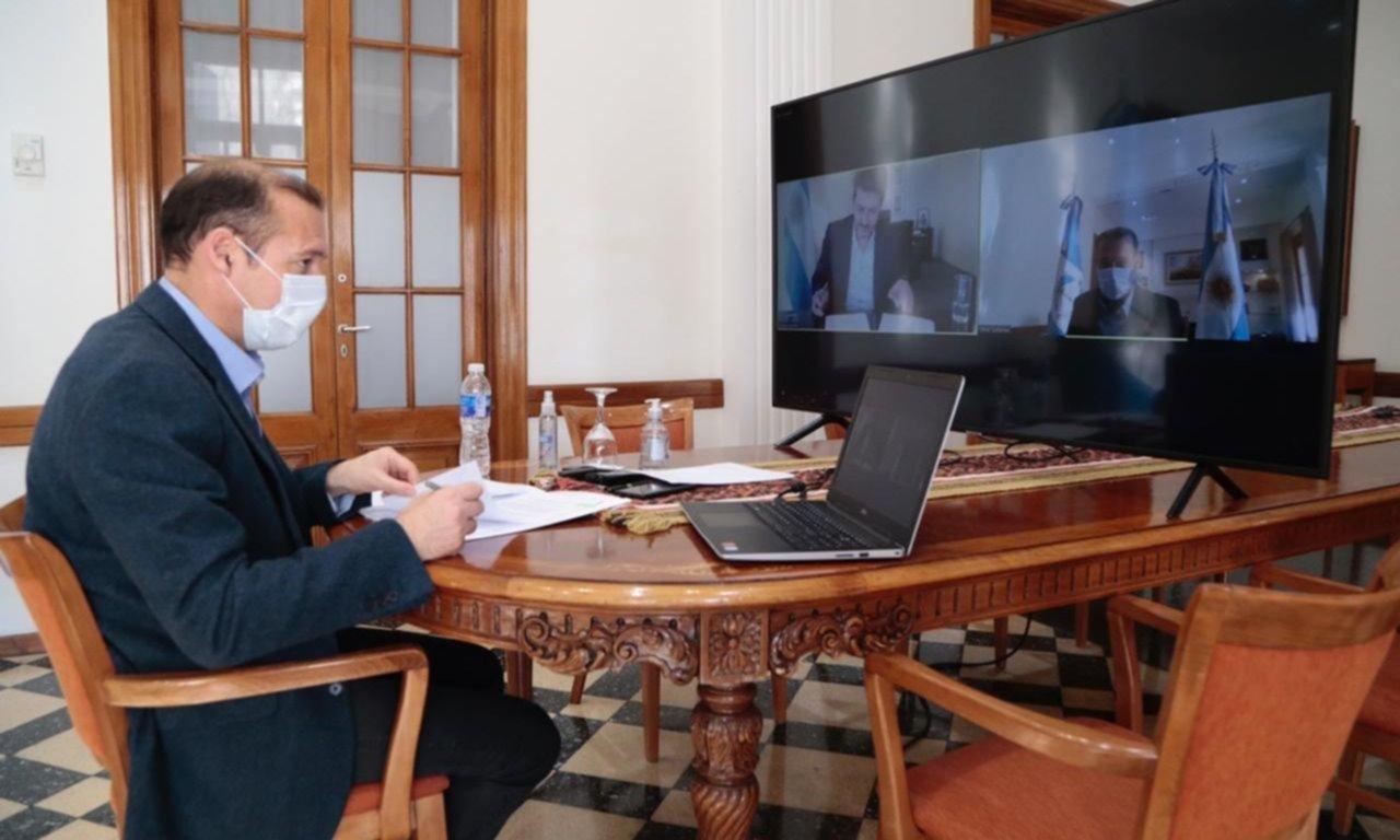 Gutiérrez acordó con Lammens el financiamiento de importantes obras turísticas