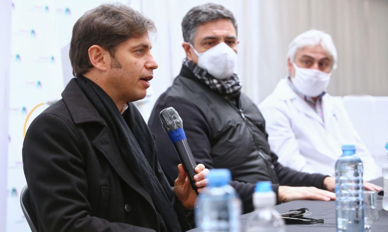 En medio de la tensión en el PRO, Kicillof afianza el puente con los moderados