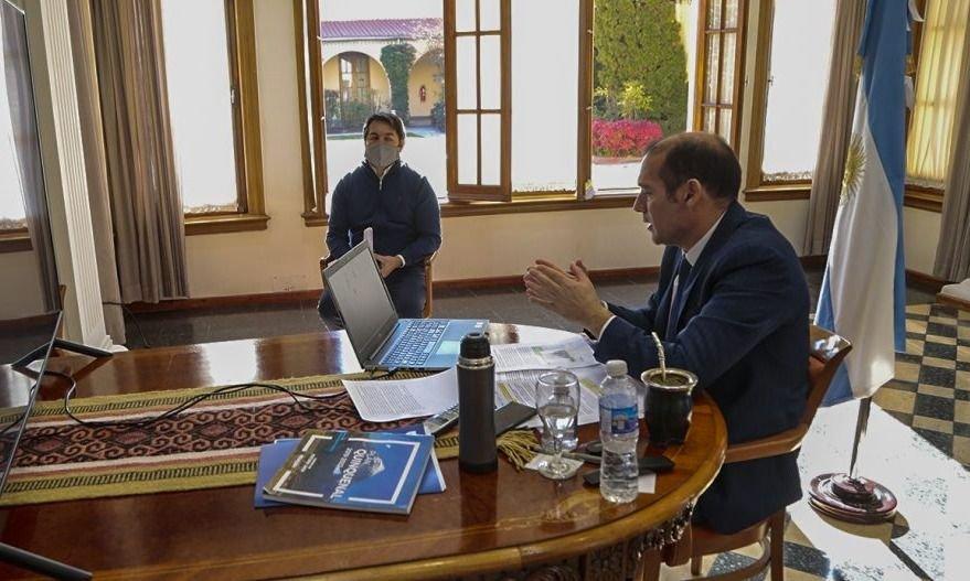 """Gutiérrez abonó """"a la reconstrucción"""" económica ante el sector energético"""