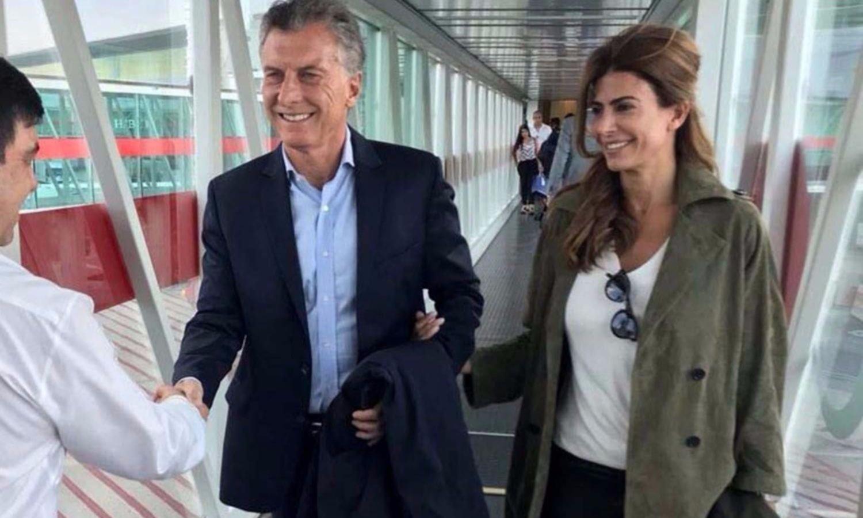 """Macri, al llegar a Francia: """"Acá se vive en libertad y con responsabilidad"""""""