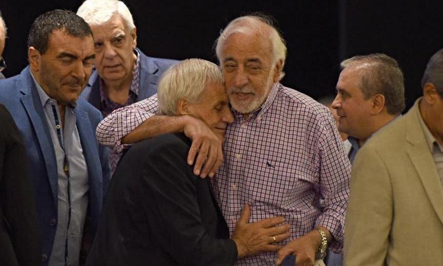 Caló, Fernández y Cavalieri, tres gordos en apuros por la crisis y las internas