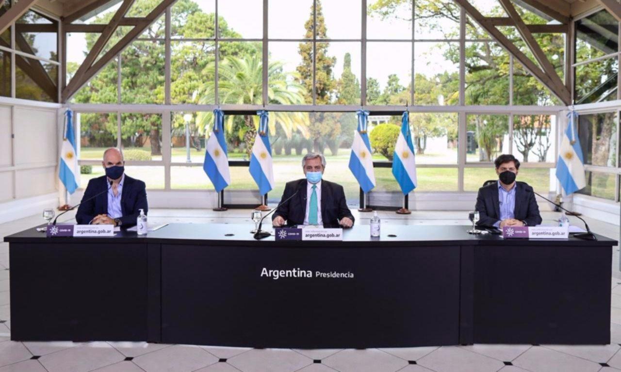 Sin grandes cambios en el AMBA, Fernández anuncia la extensión del aislamiento
