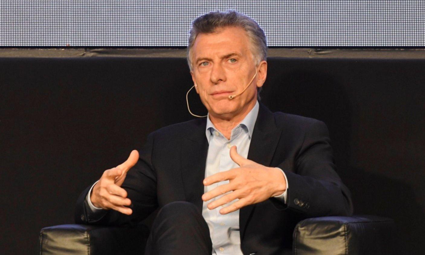 Macri reaparece en público en medio del escándalo por el espionaje ilegal