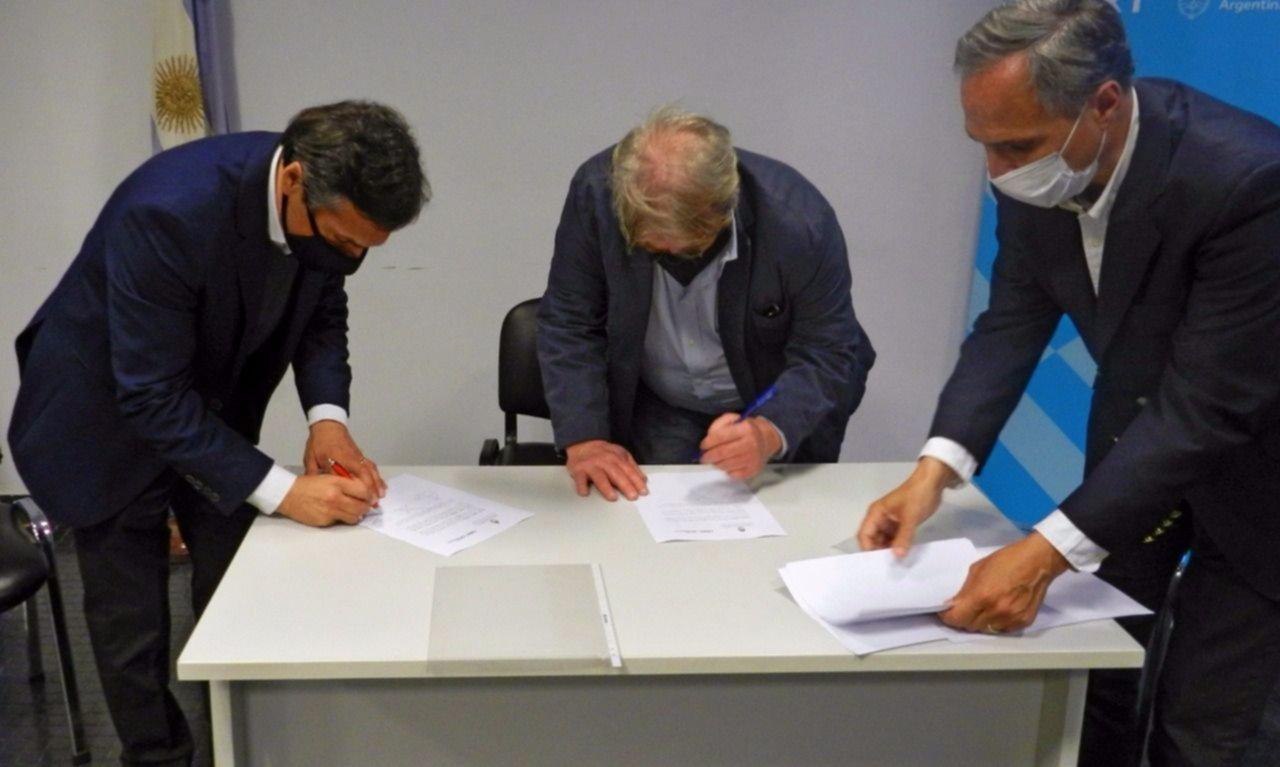 La CNRT firmó un convenio para la lucha contra la trata de personas