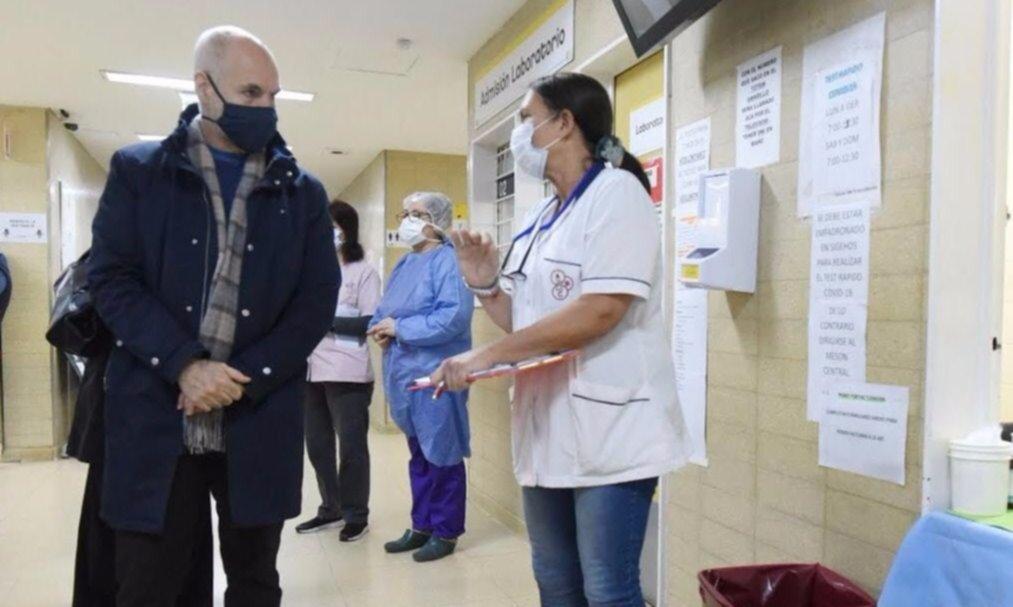 """Rodríguez Larreta, bajo fuego por sus """"ajustes"""" al protocolo de la ILE"""